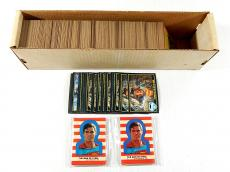 Over (600) 1983 Topps Superman III 3 Trading Cards + (2) Sticker Sets Avg Ex/Mt