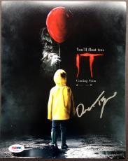 Owen Teague Signed 8x10 Photo Autograph Psa Dna Coa It