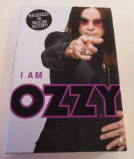 Ozzy Osbourne Autograph I am Ozzy Book PSA AD000414