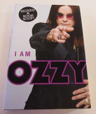 Ozzy Osbourne Autograph I am Ozzy Book PSA AD000425