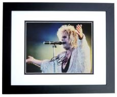 Ozzy Osbourne Signed - Autographed 11x14 Concert Photo BLACK CUSTOM FRAME