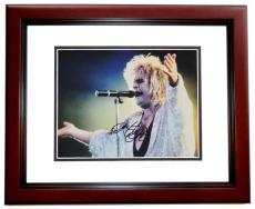 Ozzy Osbourne Signed - Autographed 11x14 Concert Photo MAHOGANY CUSTOM FRAME - Guaranteed to pass PSA or JSA