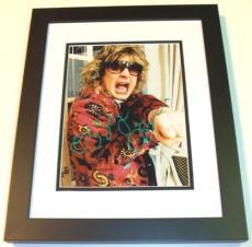 Ozzy Osbourne Autographed 8x10 Photo BLACK CUSTOM FRAME
