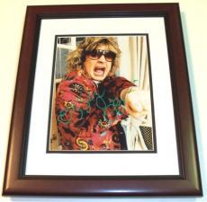 Ozzy Osbourne Autographed 8x10 Photo MAHOGANY CUSTOM FRAME