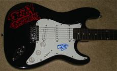 Ozzy Osbourne Autographed Guitar (prince Of Darkness) W/ Proof!