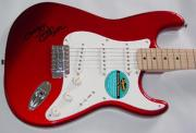 Ozzy Osbourne Autographed Facsimile Signed Fender Guitar Black Sabbath Ozzfest