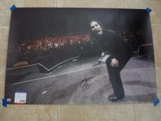 Ozzy Osbourne Black Sabbath MUSEUM PIECE Signed 24x36 Live Photo PSA Certified