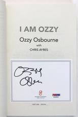 Ozzy Osbourne Black Sabbath Signed I Am Ozzy Autographed Book PSA/DNA