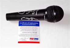 Ozzy Osbourne Black Sabbath Signed Microphone Psa Coa L33090