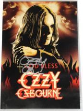 Ozzy Osbourne Hand Signed Autographed DVD Black Sabbath GOD BLESS With DVD + COA