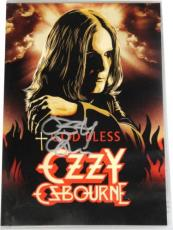 Ozzy Osbourne Hand Signed Autographed DVD Black Sabbath GOD BLESS With DVD + COA