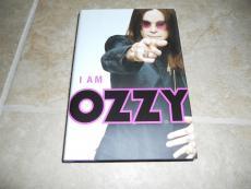 Ozzy Osbourne I Am Black Sabbath Signed Autographed Book PSA Certified