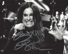 OZZY OSBOURNE - In 1970's LEAD VOCALIST of 'BLACK SABBATH' and in 1979 Launched Successful Solo Career - Signed 10x8 B/W Photo