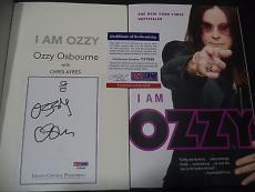 "Ozzy Osbourne Music Legend Signed Auto ""i Am Ozzy"" Soft Cover Book Psa/dna Coa F"