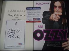 "Ozzy Osbourne Music Legend Signed Auto ""i Am Ozzy"" Soft Cover Book Psa/dna Coa H"
