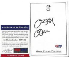 Ozzy Osbourne Music Legend Signed Autographed 4x5 Bookplate Psa/dna Coa B Rare