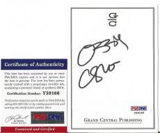 Ozzy Osbourne Music Legend Signed Autographed 4x5 Bookplate Psa/dna Coa C Rare