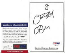 Ozzy Osbourne Music Legend Signed Autographed 4x5 Bookplate Psa/dna Coa D Rare