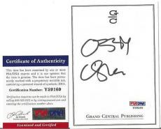 Ozzy Osbourne Music Legend Signed Autographed 4x5 Bookplate Psa/dna Coa F Rare