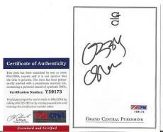 Ozzy Osbourne Music Legend Signed Autographed 4x5 Bookplate Psa/dna Coa J Rare
