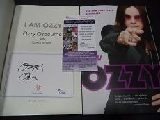 "Ozzy Osbourne Music Legend Signed Autographed "" I Am Ozzy"" Book Jsa Coa Rare C"