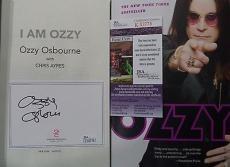 "Ozzy Osbourne Music Legend Signed Autographed "" I Am Ozzy"" Book Jsa Coa Rare A"