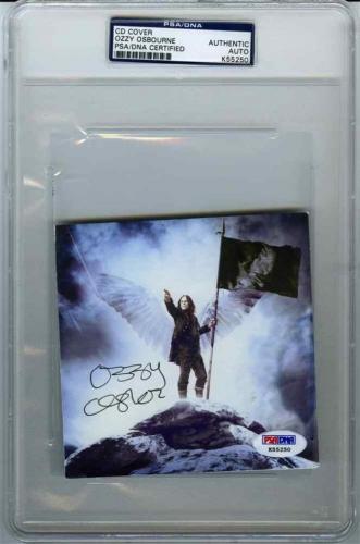 Ozzy Osbourne Scream Autographed Signed CD Authentic PSA/DNA COA AFTAL