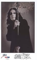 Ozzy Osbourne Signed 8x5 Photo Auto Psa/ Dna U79655