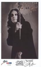 Ozzy Osbourne Signed 8x5 Photo Auto Psa/ Dna U79658