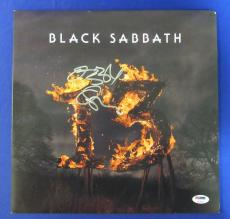 Ozzy Osbourne Signed Auto Black Sabbath 13 LP Vinyl Album PSA/DNA U78523