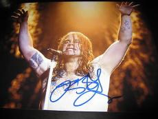 OZZY OSBOURNE SIGNED AUTOGRAPH 11x14 PHOTO BLACK SABBATH BAT SHIRT OFF RARE COA
