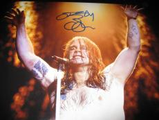 Ozzy Osbourne Signed Autograph 11x14 Photo Black Sabbath Crazy Train Coa Auto X6