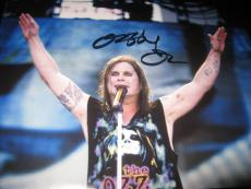 OZZY OSBOURNE SIGNED AUTOGRAPH 11x14 PHOTO BLACK SABBATH PROMO IN PERSON COA X5