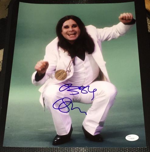 Ozzy Osbourne Signed Autograph Black Sabbath Legend Rare 11x14 Photo Jsa L74026