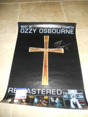 Ozzy Osbourne Signed Autographed 20x27 Ozman Cometh Poster PSA Certified