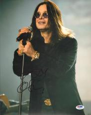 OZZY OSBOURNE Signed Autographed BLACK SABBATH 11x14 Photo PSA/DNA #Z63019