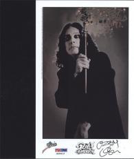 Ozzy Osbourne Signed Autographed  Photo Psa/dna S20413