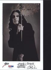 Ozzy Osbourne Signed Autographed  Photo Psa/dna S20414