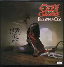 Ozzy Osbourne Signed Blizzard Of Ozz Record Album Jsa Coa N26708