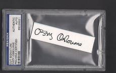Ozzy Osbourne Signed Cut Signature Auto Psa/dna Slabbed Black Sabbath #65028921
