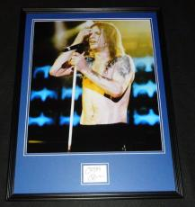 Ozzy Osbourne Signed Framed 18x24 Photo Poster Display JSA