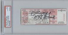 Ozzy Osbourne Signed Full Concert Ticket PSA/DNA