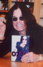 Ozzy Osbourne Signed Hardcover  Book I Am Ozzy With Bas Coa + Photo Proof
