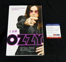 Ozzy Osbourne Signed I Am Ozzy Biography Book PSA/DNA Auto