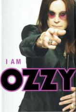 Ozzy Osbourne Signed I AM OZZY  Black Sabbath Autographed Book PSA/DNA COA