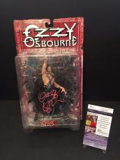 Ozzy Osbourne Signed McFarlane Toys Action Figure W/ Headless Bats JSA