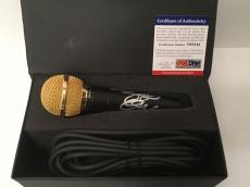 Ozzy Osbourne Signed Microphone *Black Sababth *No More Tears *Crazy Train PSA