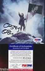 Ozzy Osbourne Signed Scream Cd Booklet Psa/dna Authentic #m97995