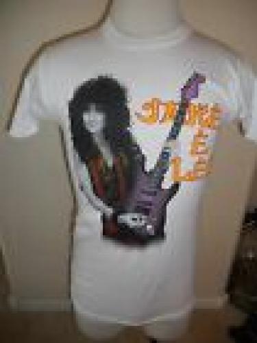 OZZY OSBOURNE Vintage 1980's T Shirt Official JAKE E LEE White Medium #1