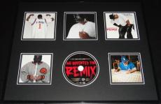 P Diddy We Invented the Remix 1998 Framed 16x20 CD & Photo Display